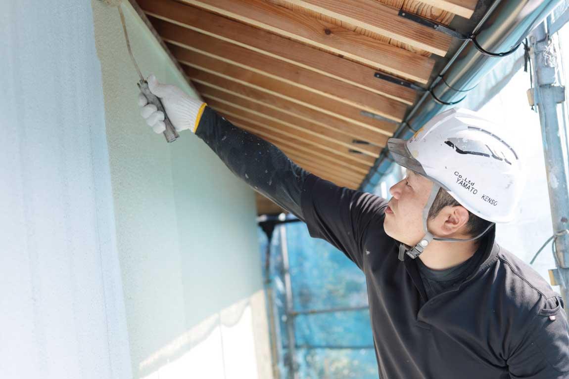 自分が塗装した建物が地元地域に増えていく